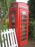 Image for Red  Telephone Box - Abbots Ripton - Camb's
