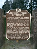 Image for Jefferson Prairie Settlement Historical Marker