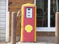 Image for Vintage Shell Gas Pump - Hansen Auto Exchange - Waupaca, WI