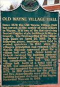Image for Old Wayne Village Hall