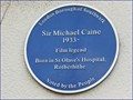 Image for Sir Michael Caine - Lower Road, Rotherhithe, London, UK