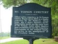 Image for Mt. Vernon Cemetery