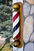 Image for Mainstreet Style Barber Pole - Parker, CO