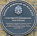 Image for Electricity Generating Sub Station - Rivington Street, London, UK