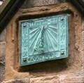 Image for Sundial on Holy Trinity Church, Skipton, Yorks, UK