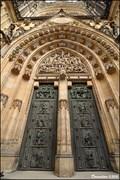 Image for Main portal of the St. Vitus Cathedral / Hlavní portál katedrály Sv. Víta (Prague)