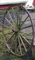 Image for Wagon Wheel Bench - Oregon City, Oregon