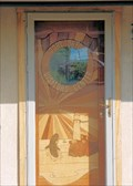 Image for Visitor Center Inlaid Door  -  Port Orford, OR