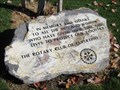 Image for Memorial Park Rotary Stone - Cupertino, CA