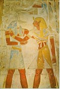 Image for Anubis Relief - Temple of Sethi I - Abydos