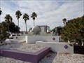 Image for Marina Plaza Fountain - Sarasota, Florida, USA.