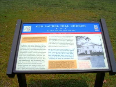 This information board include narration related to events of 1865 around the vicinity of the church. A photograph of the graffiti is include in the story board.