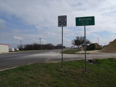 Looking southeast along TX 171