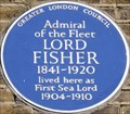 Image for Lord Fisher - Queen Anne's Gate, London, UK