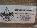Image for Kevin R. Boyle's Eagle Scout Project - Modjeska Canyon, CA
