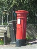 Image for Post Box, Maes Glas, Machynlleth, Ceredigion, Wales, UK