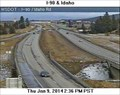 Image for I-90 at Idaho Road Webcam - Spokane Valley, WA