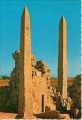 Image for Thotmes III and Queen Hatshepsut Obelisks - Karnak