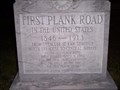 Image for First Plank Road in the United States - Syracuse, N.Y.