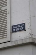 Image for Passage d'Enfer - Paris, France