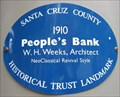 Image for Blue Plaque: People's Bank