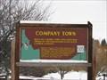 Image for Company Town - Potlatch Idaho