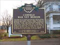 Image for Canfield War Vet Museum  ~  20-50