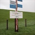 Image for Storm flood marker - Dieksiel, Germany