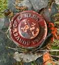 Image for Water Survey Marker - Cape Breton Highlands National Park