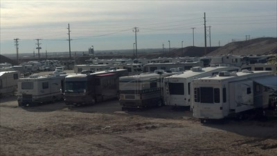 This only shows about 1/3 of the RV lot