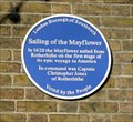 Image for Sailing of the Mayflower, Rotherhithe, London, UK
