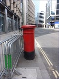 Image for Victorian Post Box - Fenchurch Street, London, UK
