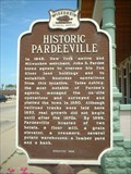 Image for Historic Pardeeville (two-sided marker)