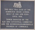 Image for Kemmerer Grade School Bell