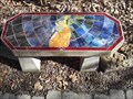 Image for Angel of Hope Mosaic Bench - Lendonwood Gardens - Grove OK