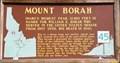 Image for #45 - Mount Borah