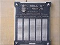 Image for Roll of Honor of the United States Air Force Academy - Colorado Springs, CO