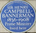 Image for Sir Henry Campbell-Bannerman - Halkin Street, London, UK