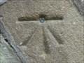 Image for Cut Mark And Rivet On Mill Bridge Over Eller Beck - Skipton UK