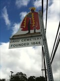 Image for O'AHU CEMETERY FOUNDED 1844