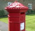 Image for Hexagonal pillar box, Chiddingstone Castle, Kent
