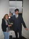Image for Pierce Brosnan wax statue
