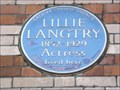 Image for Lillie Langtry - Pont Street, London, UK