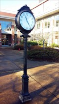 Image for Shaw Courtyard Clock - University of Oregon School of Law