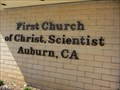 Image for First Church of Christ Scientist - Auburn, CA