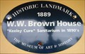 Image for Blue Plaque - W.W. Brown House