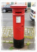 Image for Victorian Post Box - Abbey Street, Faversham, Kent UK