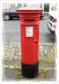 Image for Victorian Post Box - Abbey Street, Faversham, Kent UK