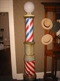 Image for Fielder Museum Barber Display - Arlington, TX