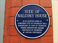 Image for Blue Plaque - Site of Balcony House, Shifnal, Shropshire